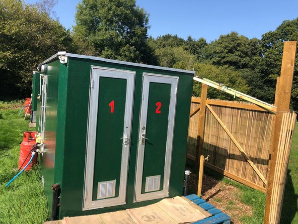 Glamping Showers