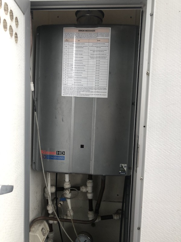 Shower Unit Boiler