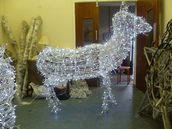 Light Up Large Christmas Reindeer