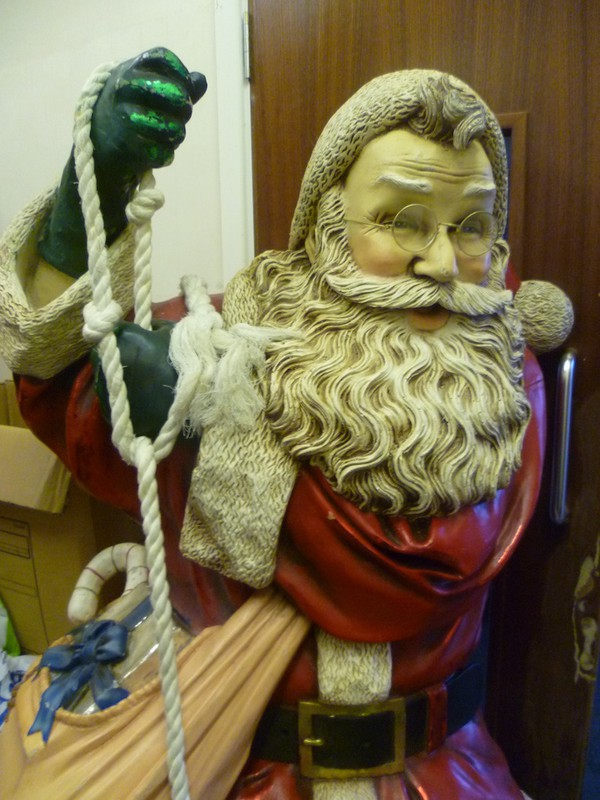 Large Fibreglass Santa