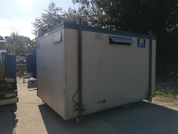 Secondhand toilet block for sale