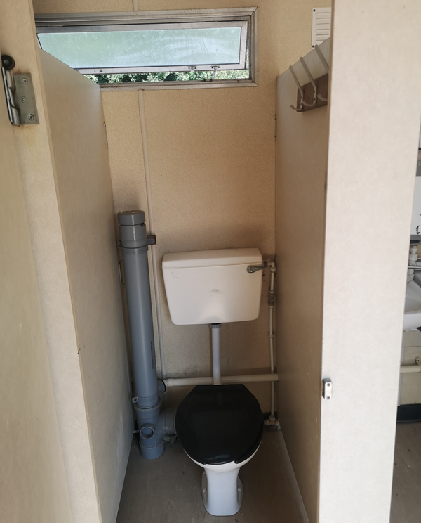 Static toilet block for sale