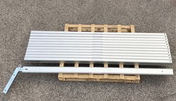 2.3m Framed marquee leg for 3m to 9m