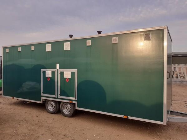 LPG Gas shower trailer