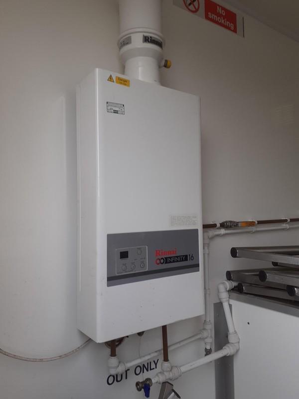 Rinnai LPG instant hot water heater