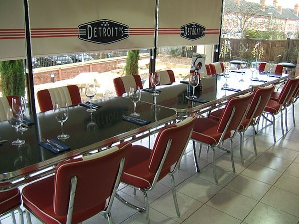 Bel.Air Fifties Retro Chairs and Tables