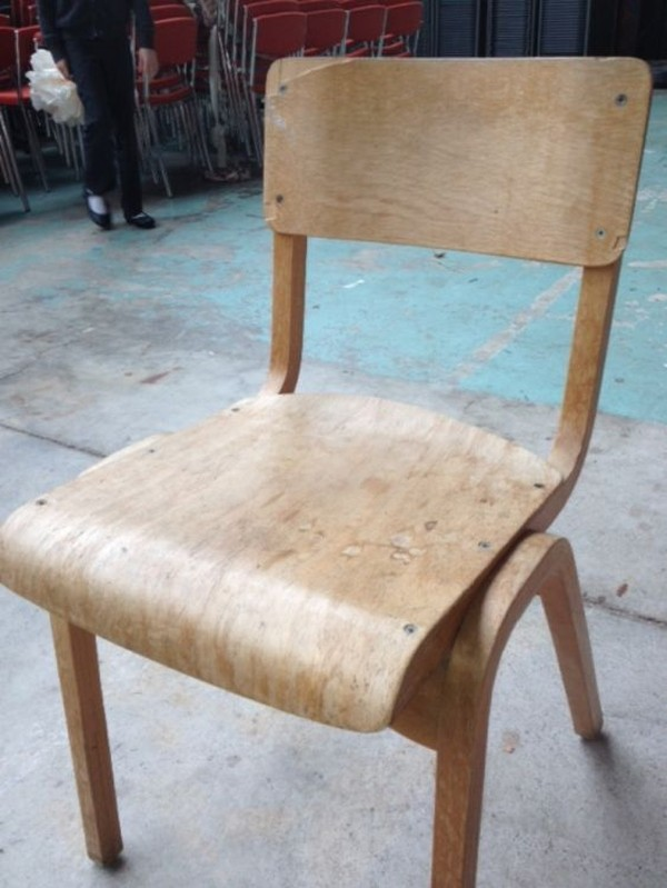Buy Used Stacking Wooden Chairs