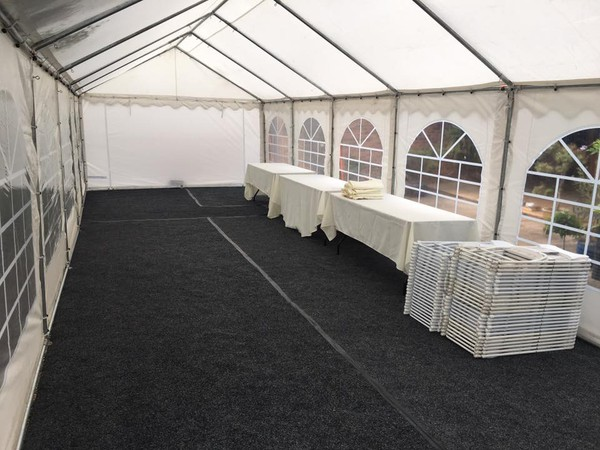 Marquee event hire business