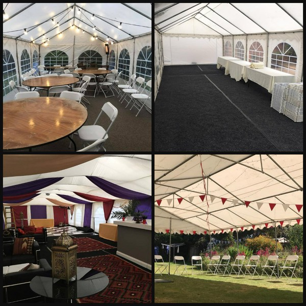 Marquee hire business - Bedfordshire