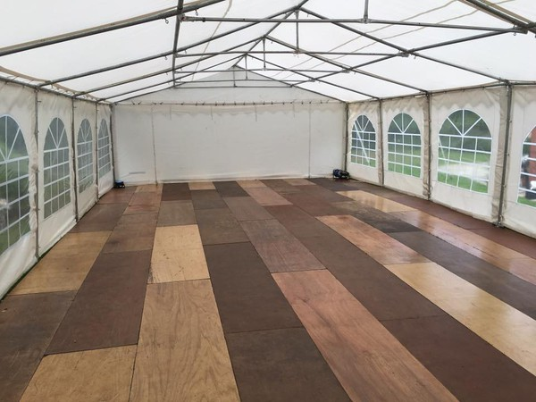 Small marquee hire business