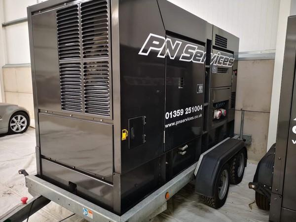 Denyo 100Kva Super Silenced Generator