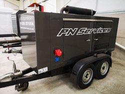 Used Perkins 70Kva Generator