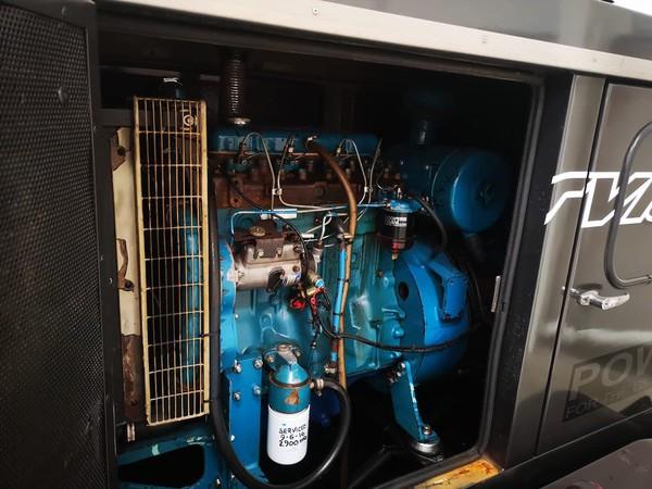Perkins 70Kva Sper Silenced Generator