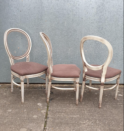 Balloon back chairs for sale