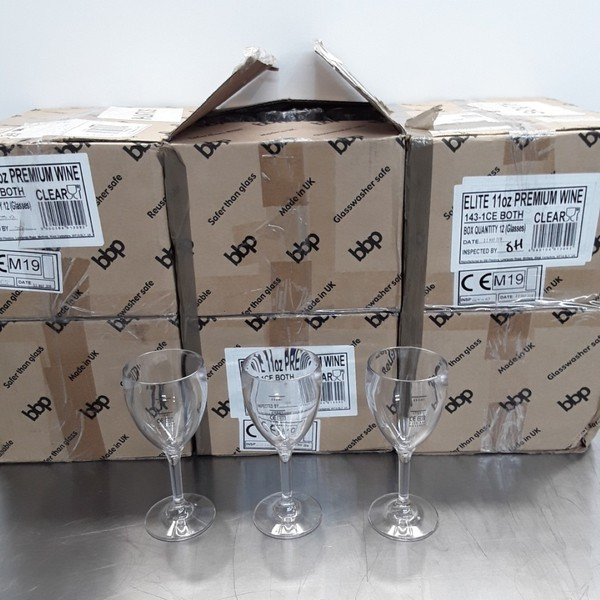 CG299 Polycarbonate Wine Glasses