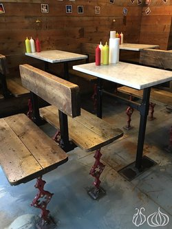 Traditional Table & Bench Set