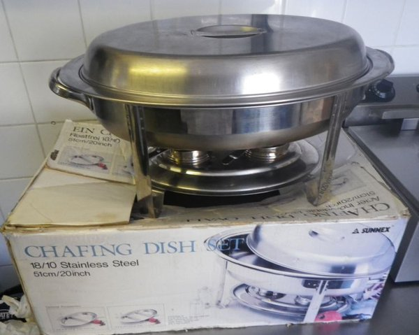 Sunnex Oval Chafing Dishes - Marlborough, Wiltshire