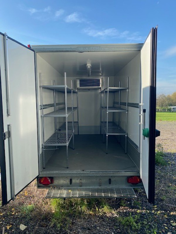 Event refrigerated trailer for sale