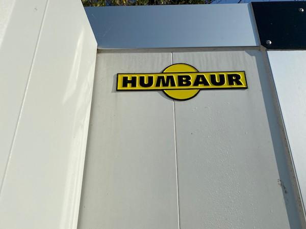 Humbaur refrigerated trailer