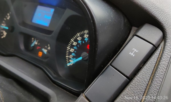dashboard Ford Transit 4x4