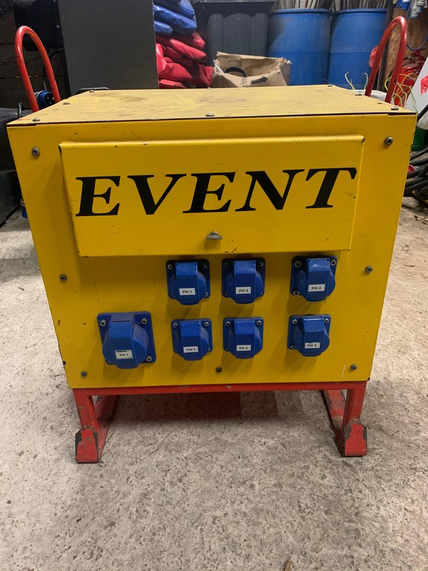 Event power distribution
