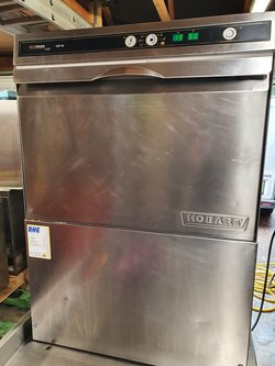 Used Hobart EcoMax CHF40 Under counter glass washer