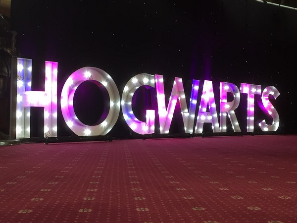 4ft Illuminated Letters Hogwarts