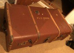1960's school trunk