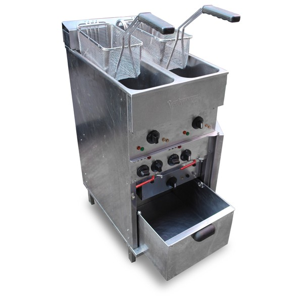 Used electric fryer