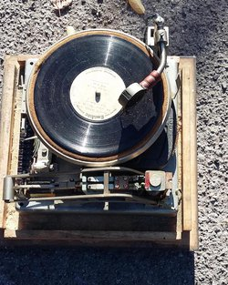 Sixties Alarm Turntable