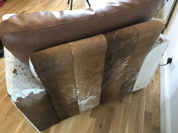 Leather Cow Hide chairs