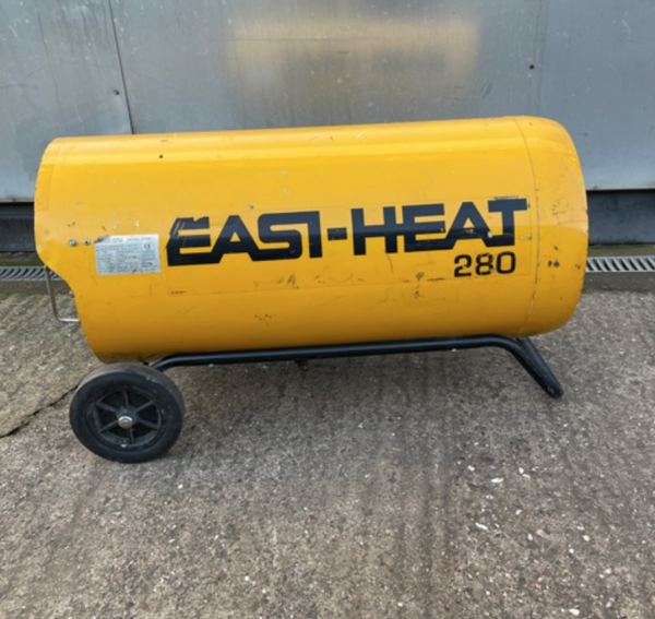 Secondhand direct heaters