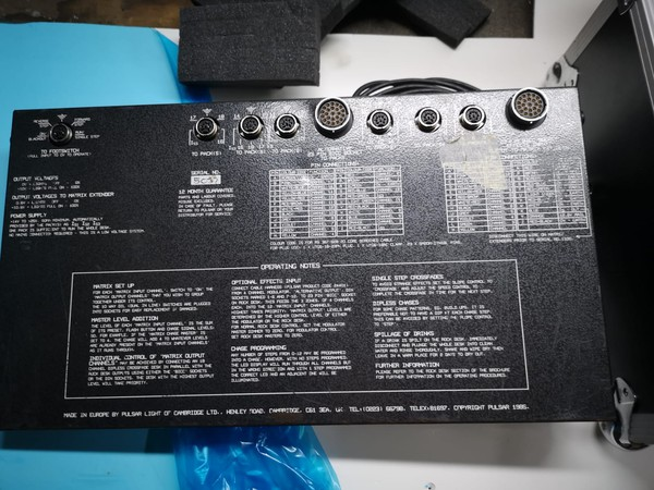 Used mixing desk