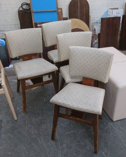 Vintage Spotty Dining Chairs