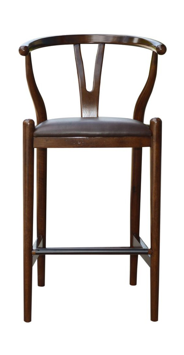 Wishbone High bar stool by Findahls