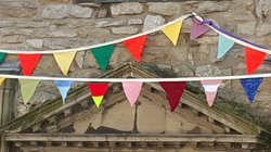 Knitted Bunting for sale