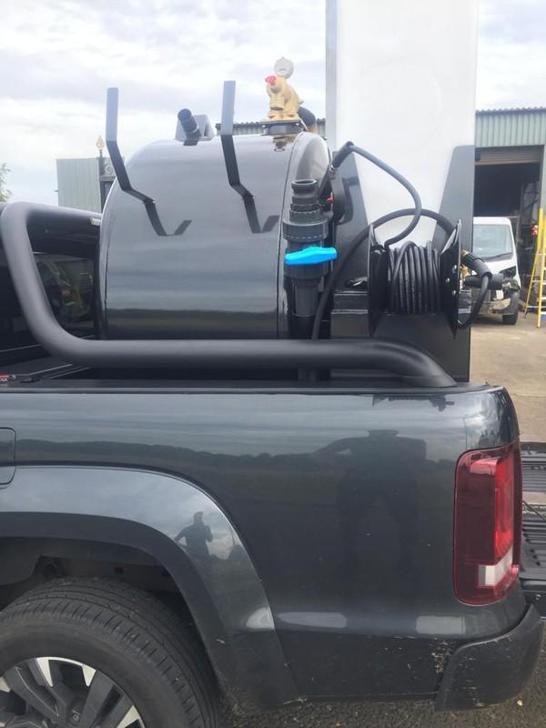 Pickup with Vac tank