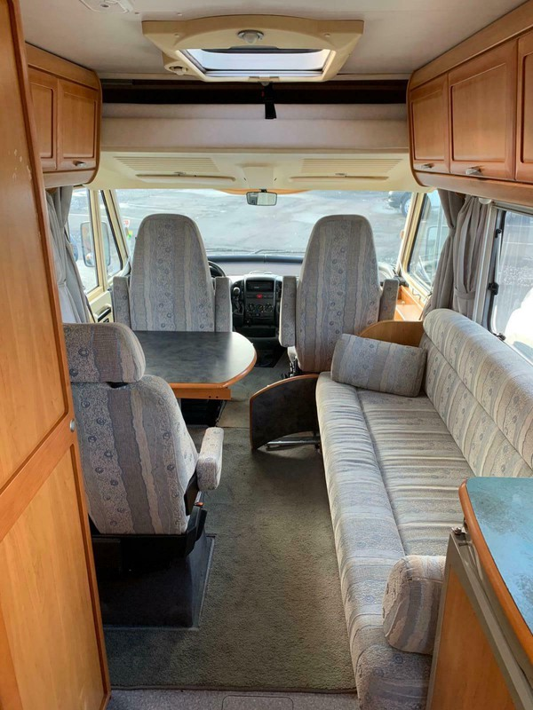 3 bed motorhome for sale