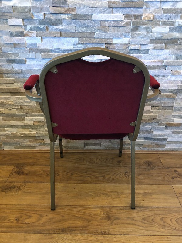 Shield Back Banqueting Arm Chairs for sale