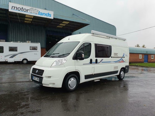 3 berth motorhome for sale