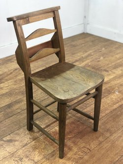 30x Vintage Wooden Church Chairs