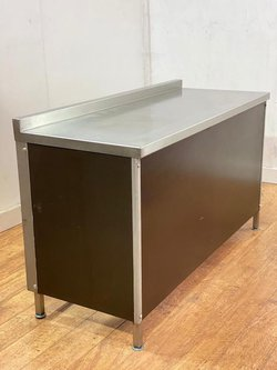 Stainless Steel Wall Prep Table With Undershelf