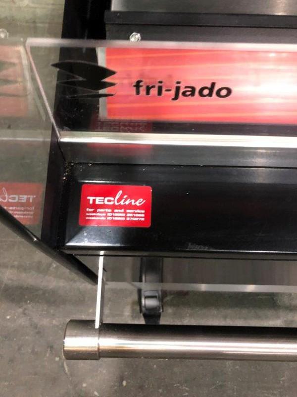 Fri-Jado heated display