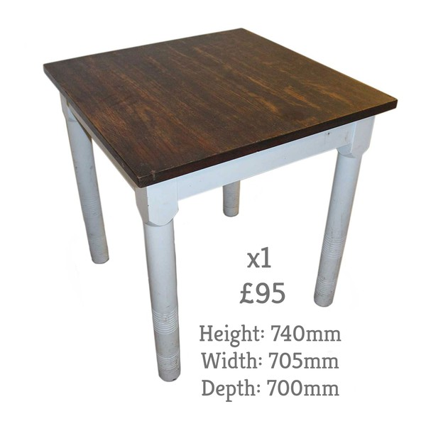 Square Shabby Chic Tables for sale