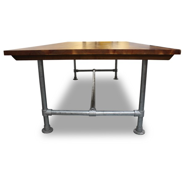 Plank and Scaffolding Table