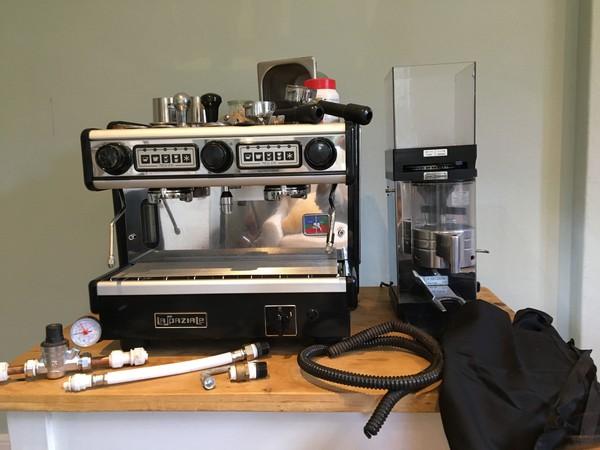 Spazio EK two group coffee machine