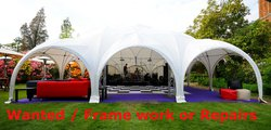 Wanted Dome marquee frame