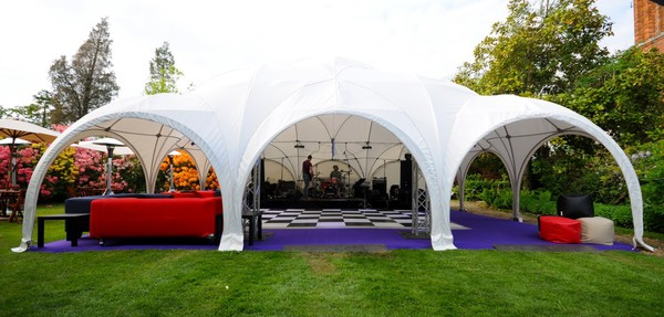 Dome marquee frame
