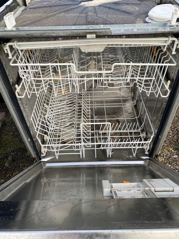 Commercial front loading dishwasher