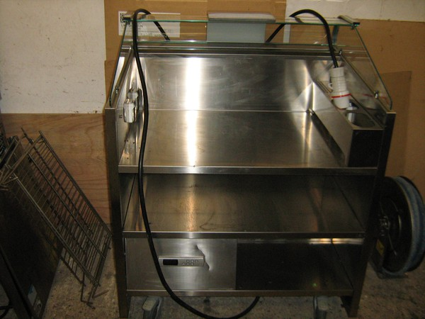 Secondhand cooking counter for sale